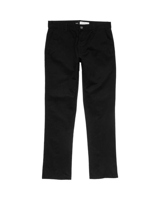 RVCA - Black All Time Chino Pant for Men - Lyst