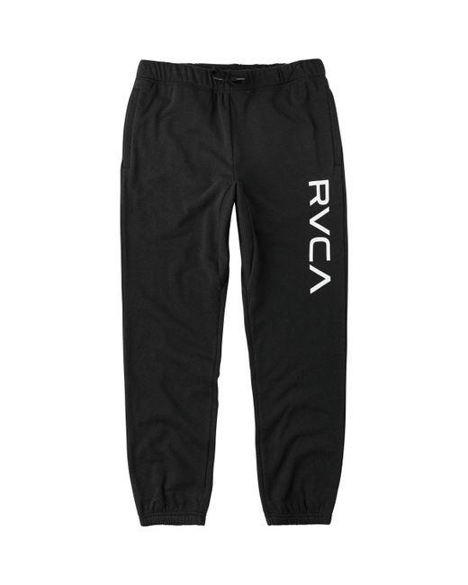 RVCA - Black Big Sweat Pant for Men - Lyst