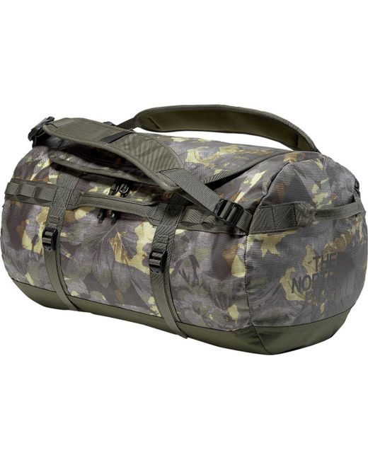 The North Face - Green Base Camp 50l Duffel for Men - Lyst