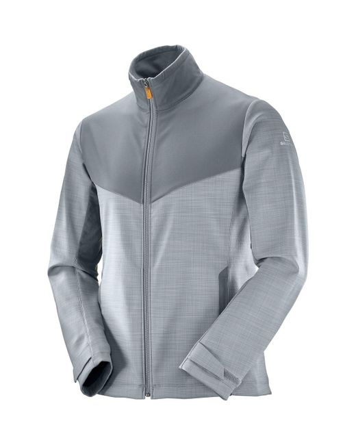 Yves Salomon - Blue Pulse Softshell Jacket for Men - Lyst