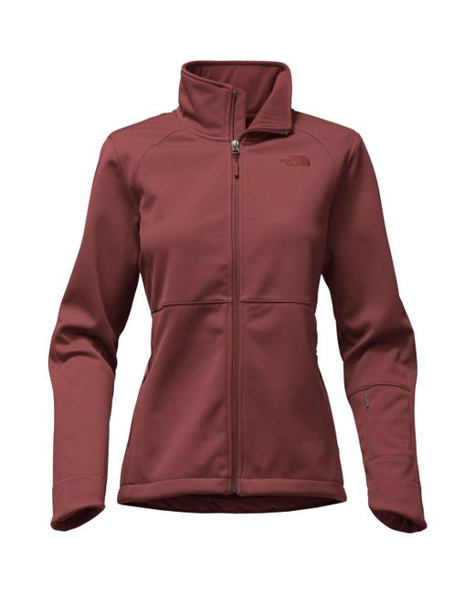 The North Face - Red Apex Risor Softshell Jacket - Lyst