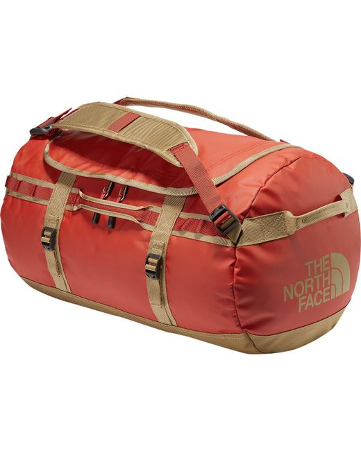 The North Face - Red Base Camp 50l Duffel for Men - Lyst