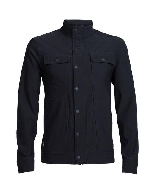 Icebreaker - Black Utility Softshell Jacket for Men - Lyst