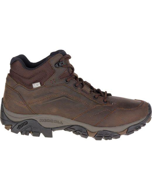 Merrell | Brown Moab Adventure Mid Waterproof Boot for Men | Lyst