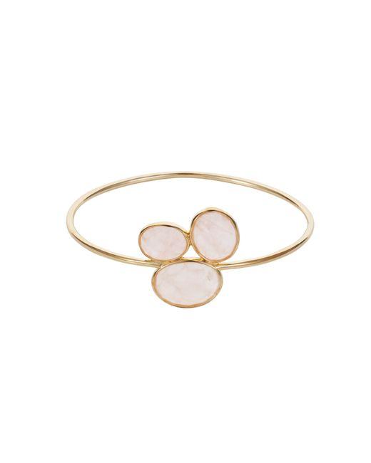 Caroline Creba | Pink 18ct Gold Plated Sterling Silver 16ct Rose Quartz | Lyst
