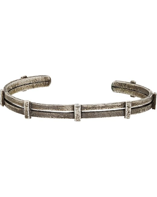 Zadeh | Metallic Ignacio Cuff for Men | Lyst