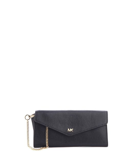 0ac50cb69066 Michael Kors - Multicolor Logo Pebbled-leather Envelope Wallet - Lyst ...