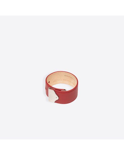 Balenciaga | Red Tools Large Bracelet | Lyst