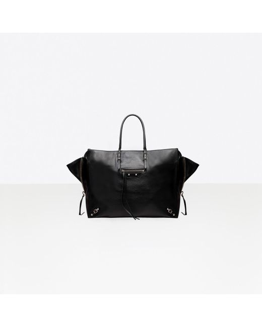 Balenciaga - Black Papier A4 Zip Around - Lyst