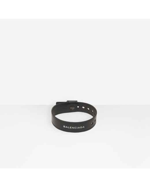 Balenciaga - Black Party Bracelet - Lyst