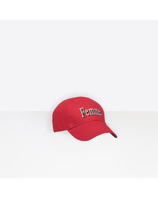 7d3ad5848dd ... Balenciaga - Red Cap