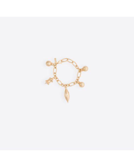 Balenciaga | Metallic December Bracelet Charm | Lyst