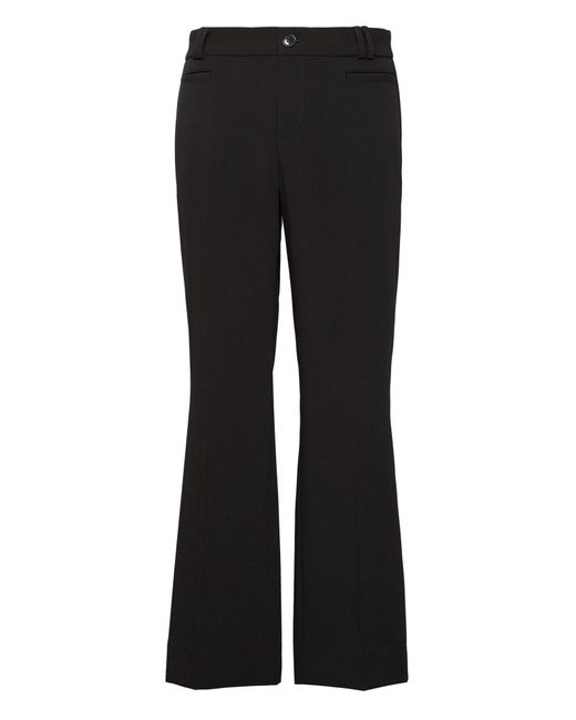 Banana Republic - Black Logan Trouser-fit Cropped Bi-stretch Pant - Lyst