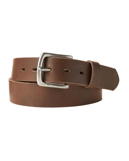 Banana Republic Factory - Brown Distressed Leather Belt for Men - Lyst