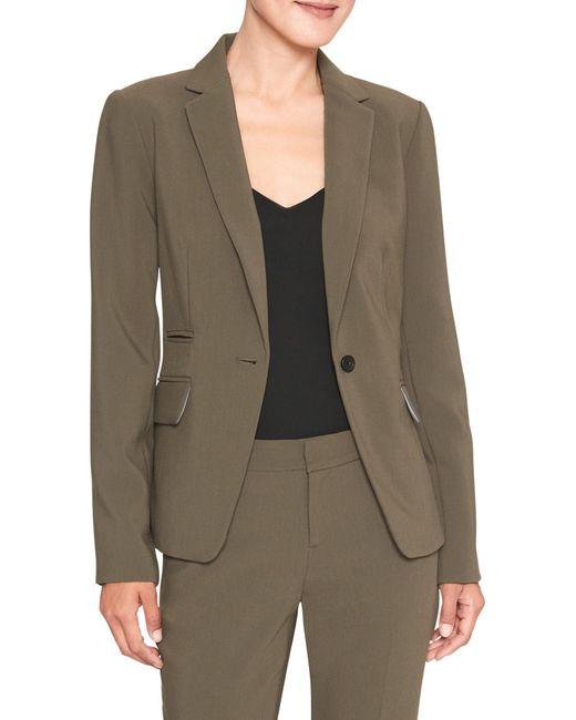 Banana Republic Factory - Green Machine Washable Bi-stretch Cutaway Suit Blazer - Lyst