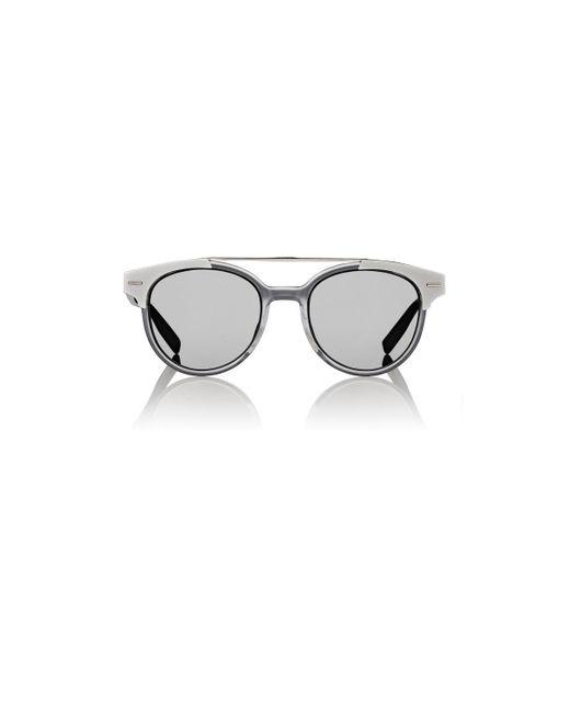 Dior Homme - Black 220s Round Sunglasses for Men - Lyst