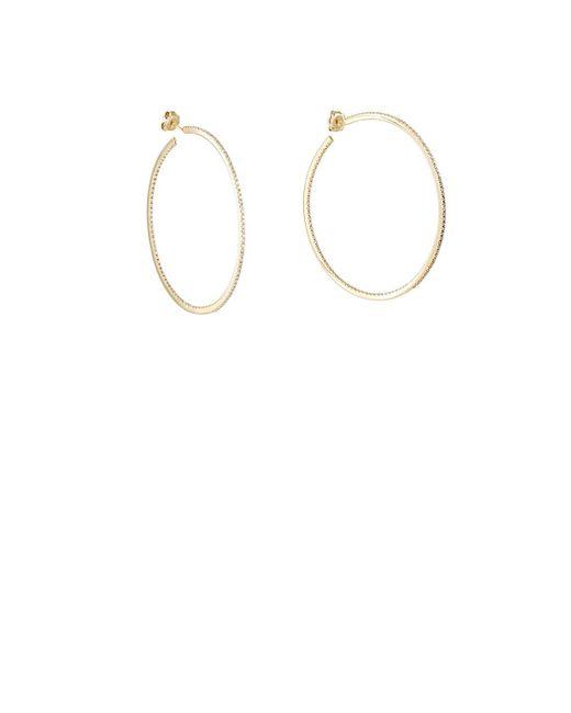 Sidney Garber - Metallic Perfect Round Large Hoop Earrings - Lyst