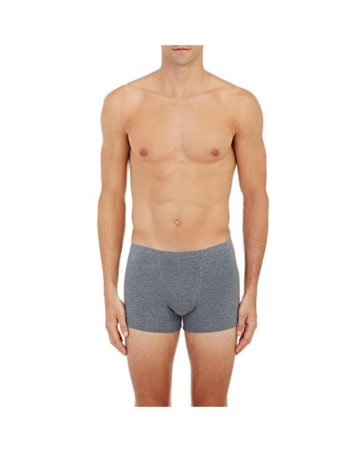 Zimmerli - Gray Pureness Trunks for Men - Lyst
