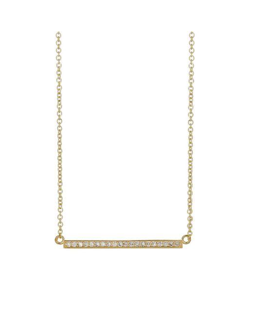 Jennifer Meyer - Multicolor Diamond Stick Necklace - Lyst