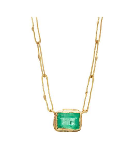 Judy Geib - Green Echo Pendant Necklace - Lyst