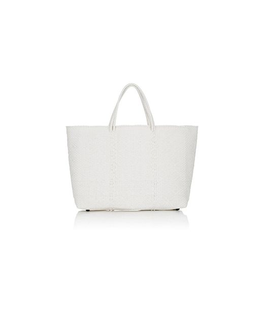 Truss - White Large Tote Bag - Lyst
