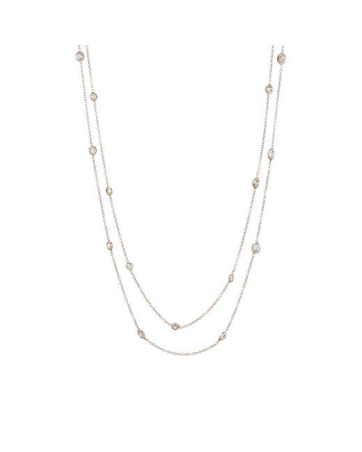 Renee Lewis | Metallic White Diamond Double | Lyst