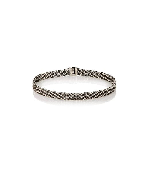 Title Of Work | Metallic Mesh Bracelet for Men | Lyst