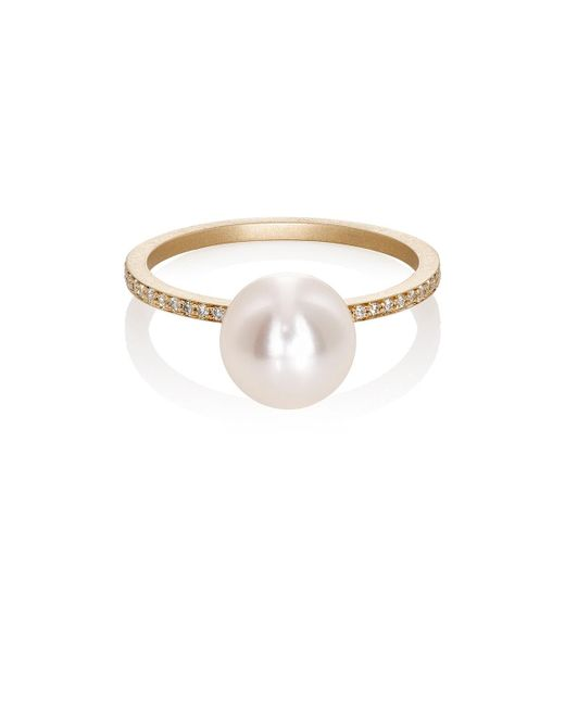 Sophie Bille Brahe | Metallic Lisa Pavé Band | Lyst