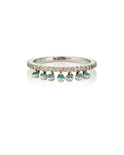 Sharon Khazzam | Multicolor Shimmee Ring | Lyst