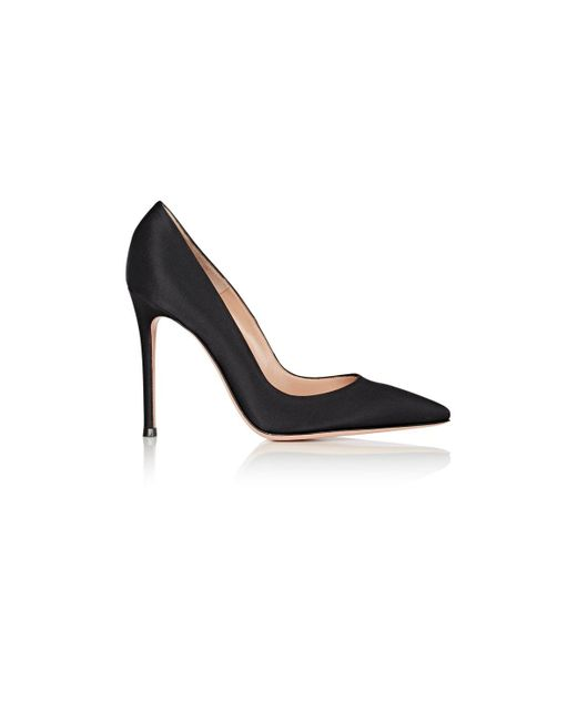 Gianvito Rossi | Black gianvito Satin Pumps | Lyst