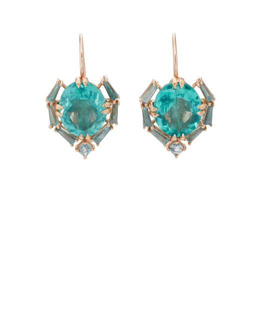 Nak Armstrong - Blue Satchel Drop Earrings - Lyst