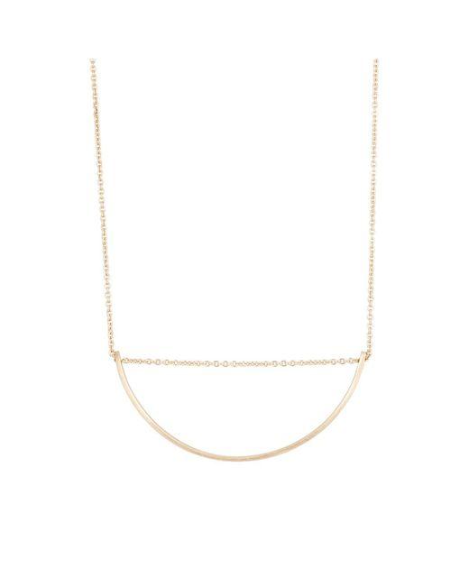 Hirotaka - Metallic Bow Necklace - Lyst
