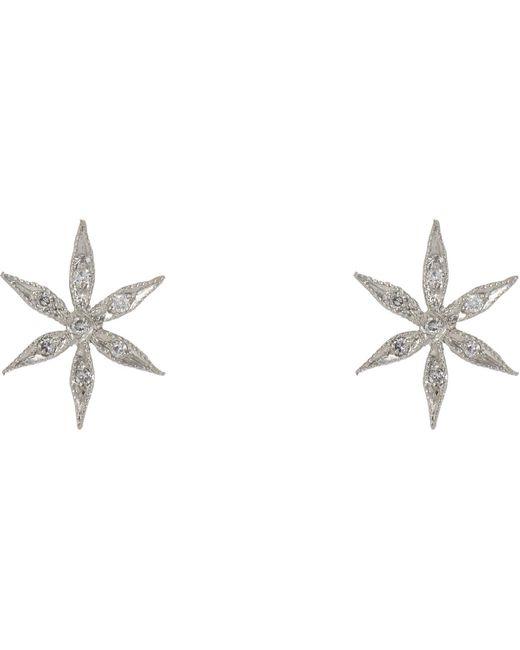Cathy Waterman | Metallic Star Flower Studs | Lyst