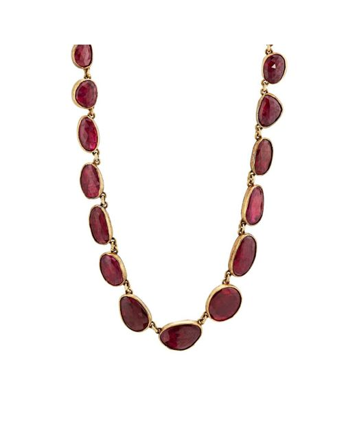 Judy Geib - Red Ruby Necklace - Lyst