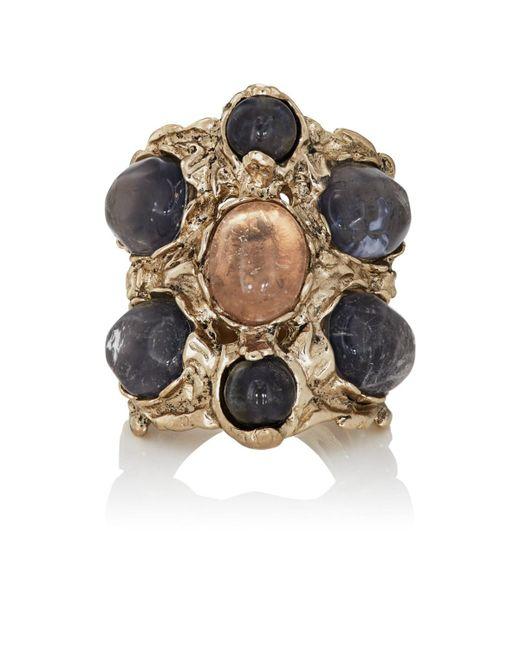Goossens Paris - Metallic Iolite Ring - Lyst
