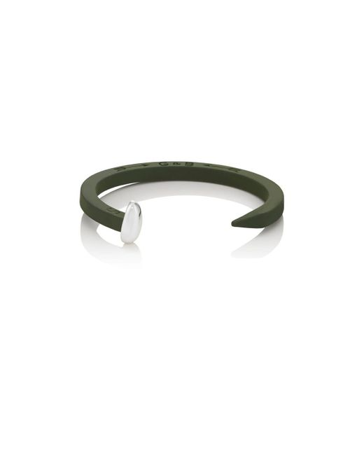 Giles & Brother | Green Railroad Spike Cuff | Lyst