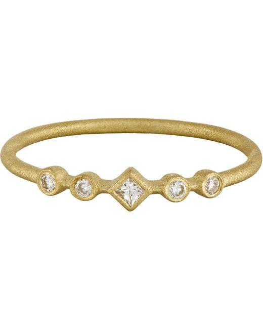 Tate - Metallic Diamond Ring - Lyst