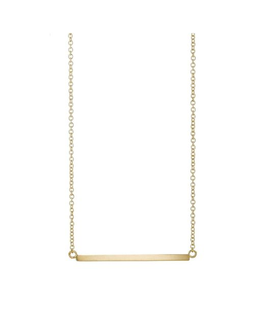 Jennifer Meyer - Metallic Stick Necklace - Lyst