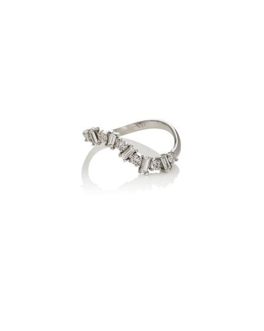 Ileana Makri - Metallic Wave Ring - Lyst
