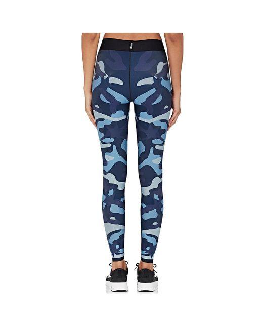 Ultracor   Blue Star & Camouflage Leggings   Lyst
