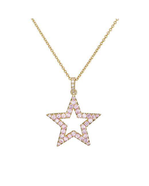 Jennifer Meyer | Metallic Open Star Pendant Necklace | Lyst