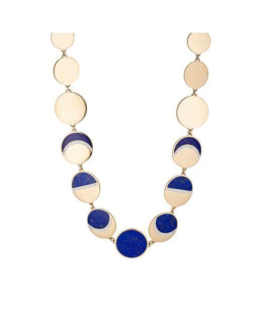 Pamela Love | Metallic Moon Phase Collar Necklace | Lyst