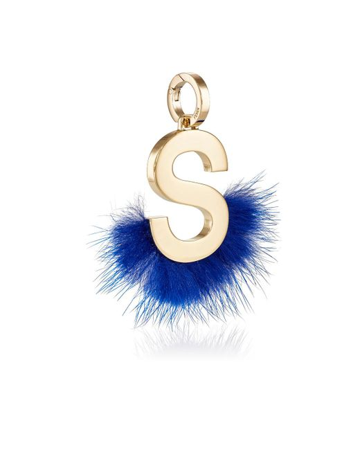 Fendi | Metallic Abclick S Bag Charm | Lyst