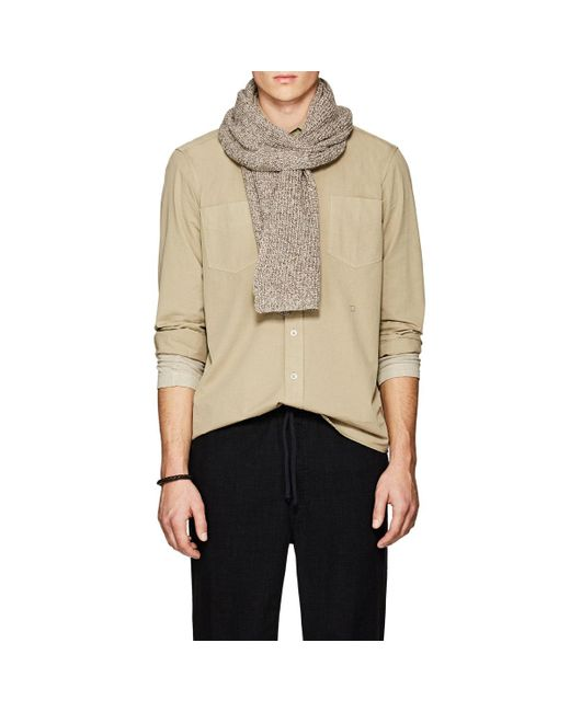 Barneys New York | Natural Rib-knit Wool for Men | Lyst