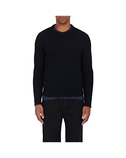 Eidos | Black English Rib-knit Cashmere for Men | Lyst