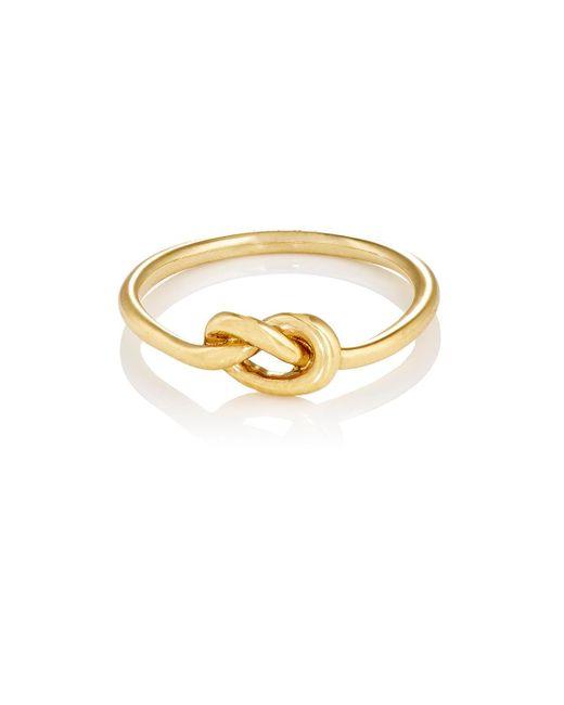 Finn   Metallic Love Knot Ring   Lyst