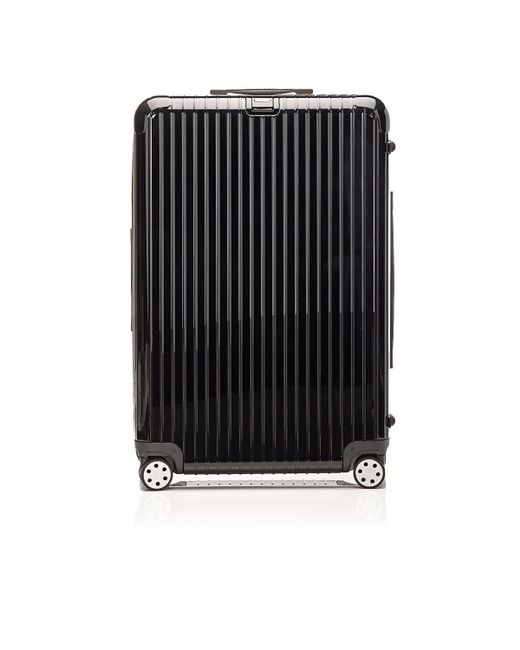 rimowa salsa deluxe 32 multiwheel trolley in black lyst. Black Bedroom Furniture Sets. Home Design Ideas