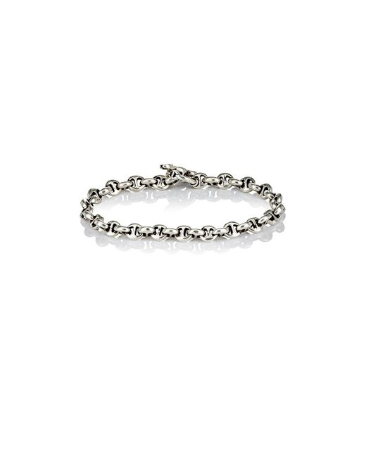 Hoorsenbuhs | Metallic Diamond & Silver 'h' Chain for Men | Lyst