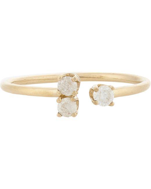 Loren Stewart | Metallic Diamond & Gold Cluster Ring | Lyst