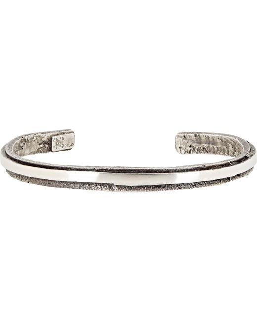 Zadeh | Metallic Orbit Cuff for Men | Lyst